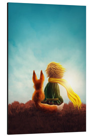 Aluminium print  The Little Prince - Elena Schweitzer