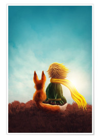 Poster  The Little Prince - Elena Schweitzer