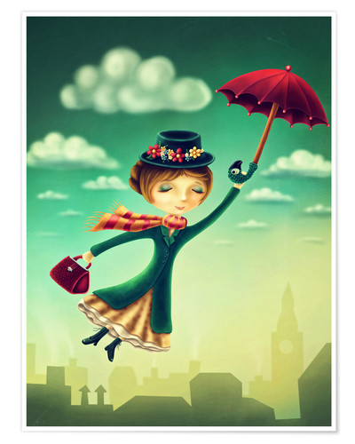 Premium poster Marry Poppins