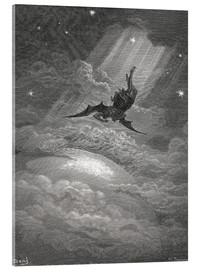 Acrylic glass  Paradise Lost - Gustave Doré