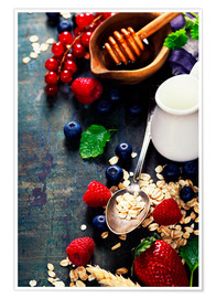 Poster Healthy Breakfast