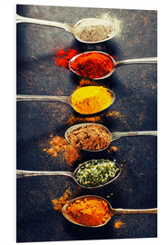 Foam board print  Spices Mix