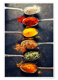 Premium poster Spices Mix