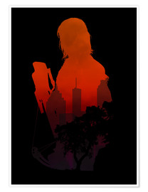 Premium poster The Walking Dead - Daryl Dixon - Alternative fanart