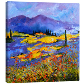 Canvas print  Fields of Provence - Pol Ledent