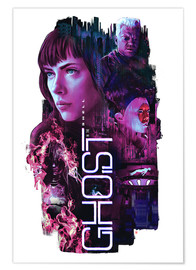 Premium poster Ghost in the Shell