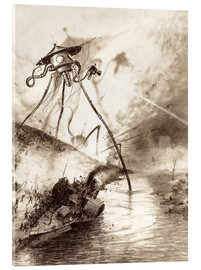 Henrique Alvim Correa - Martian Fighting Machine in the Thames Valley