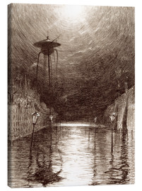 Canvas print  Martian Machine Over the Thames - Henrique Alvim Correa