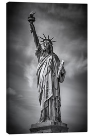 Canvas print  NEW YORK CITY Statue of Liberty - Melanie Viola