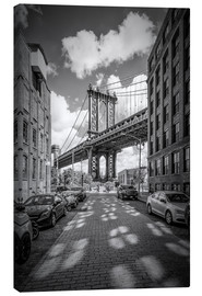 Canvas print  Manhattan Bridge, New York - Melanie Viola