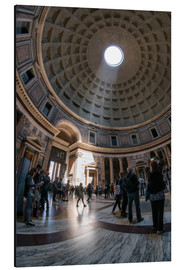 Alu-Dibond  The Pantheon in Rome, Italy - Jan Christopher Becke
