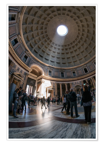 Premium poster The Pantheon in Rome, Italy