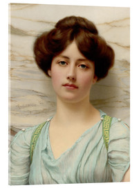 Acrylic print  Carina - John William Godward