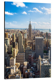 Aluminium print  Manhattan skyline in New York City, USA - Jan Christopher Becke