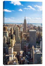 Canvas  Manhattan skyline in New York City, USA - Jan Christopher Becke