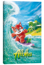 Canvas print  Aloha Surfer Fox - Stefan Lohr