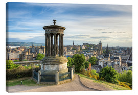 Canvas print  Edinburgh view from Calton Hill - Michael Valjak
