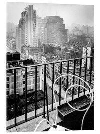 Acrylic glass  New York: View from penthouse, 56 Seventh Avenue, Manhattan - Christian Müringer