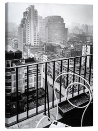 Canvas print  New York: View from penthouse, 56 Seventh Avenue, Manhattan - Christian Müringer