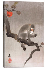 Canvas print  Monkey in a Tree - Ohara Koson