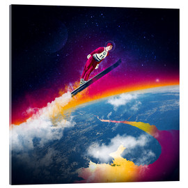 Acrylic print  One Giant Leap - Stoddartist