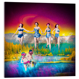 Acrylic print  For Heaven's Lake - Stoddartist