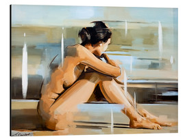 Aluminium print  Thinking - Johnny Morant