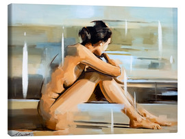 Canvas print  Thinking - Johnny Morant