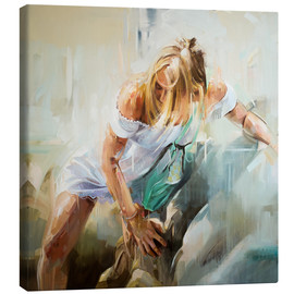 Canvas print  A will and a way - Johnny Morant