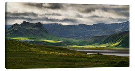 Canvas print  The beauty of Iceland - Dennis Fischer