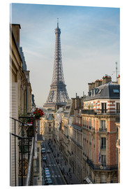 Acrylic print  View over the rooftops of Paris, France - Jan Christopher Becke