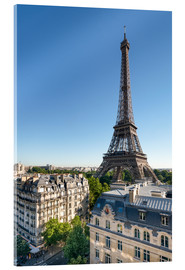 Acrylic print  Eiffel Tower in Paris, France - Jan Christopher Becke