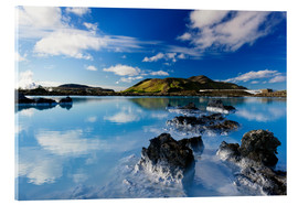 Acrylic print  Blue Lagoon in Iceland - Dieter Meyrl