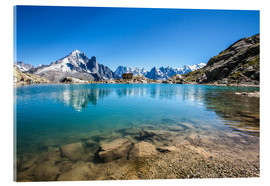 Roberto Sysa Moiola - Mont Blanc reflected in Lacs des Chéserys, Chamonix, France