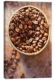 Canvas print  Coffee grains - K&L Food Style