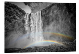 Melanie Viola - ICELAND Skogafoss with a double rainbow