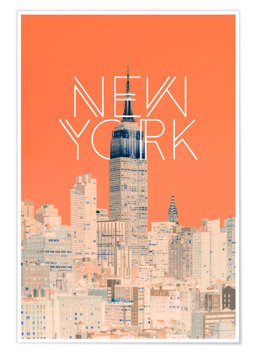 Premium poster The Big Apple