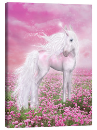 Canvas print  Pink Unicorn - Dolphins DreamDesign