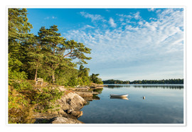 Premium poster Archipelago on the Baltic Sea coast in Sweden