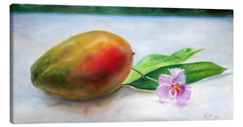 Canvas print  Mango and orchid - Jonathan Guy-Gladding