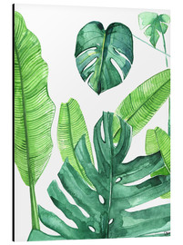 Alu-Dibond  Tropical leaves - Rongrong DeVoe
