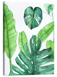 Canvas print  Tropical leaves - Rongrong DeVoe