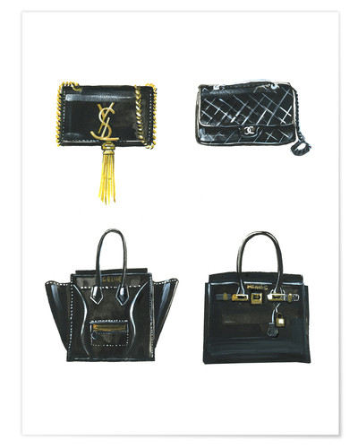 Premium poster Handbags collection