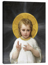 Canvas print  Jesus - Emile Munier