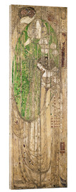 Acrylic print  O Ye All Ye That Walk in Willow Wood - Margaret MacDonald Mackintosh
