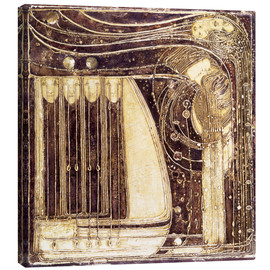 Canvas print  The Opera of the Sea - Margaret MacDonald Mackintosh