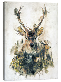 Canvas print  Deer nature, surrealism - Barrett Biggers