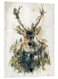 Forex  Deer Nature Surrealism - Barrett Biggers