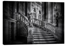 Canvas print  Stairs up - Sabine Wagner