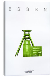 Canvas print  Essen City Colliery Zollverein - campus graphics